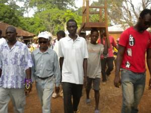 Koinadugu celebrates with Fambul tok