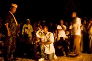 Commander Mohammed Savage asks for forgiveness at Tombodu