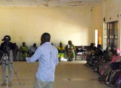 Fambul Tok International Executive Director, John Caulker, discusses the topic of empowering women