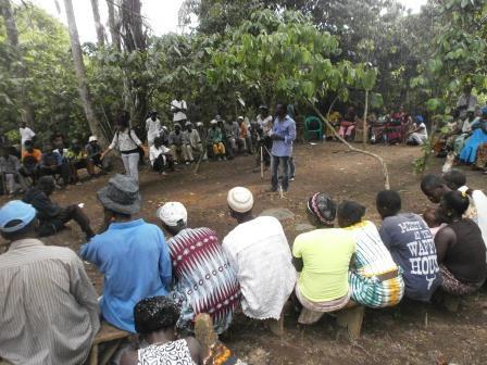 ED address peace mothers in Faada