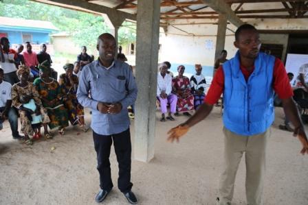 Councillor Koroma explains  ebola related cases