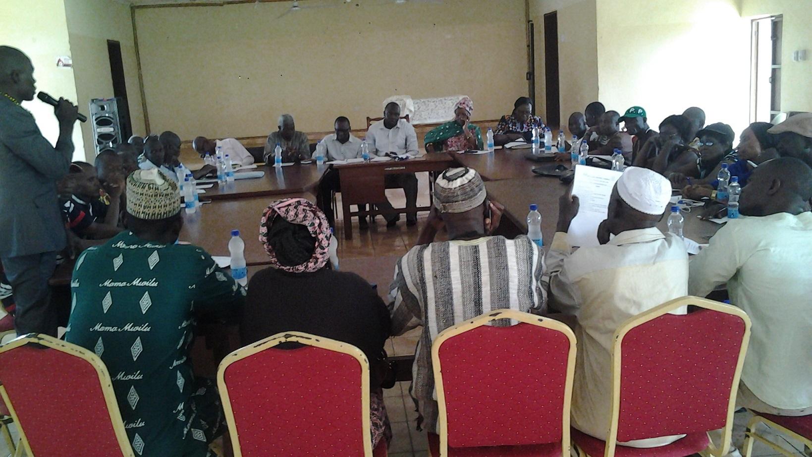 IDC Meeting in Moyamba